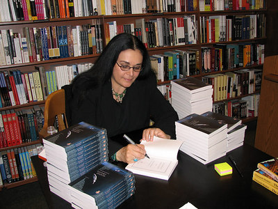 Book signing in NYC, June 2006